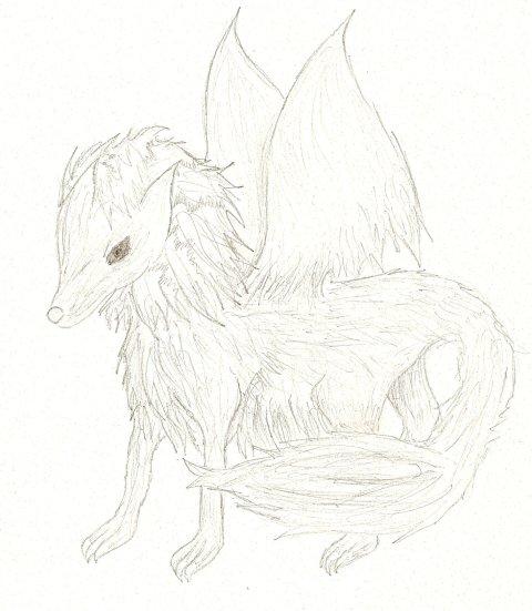 A Thunder Wolf