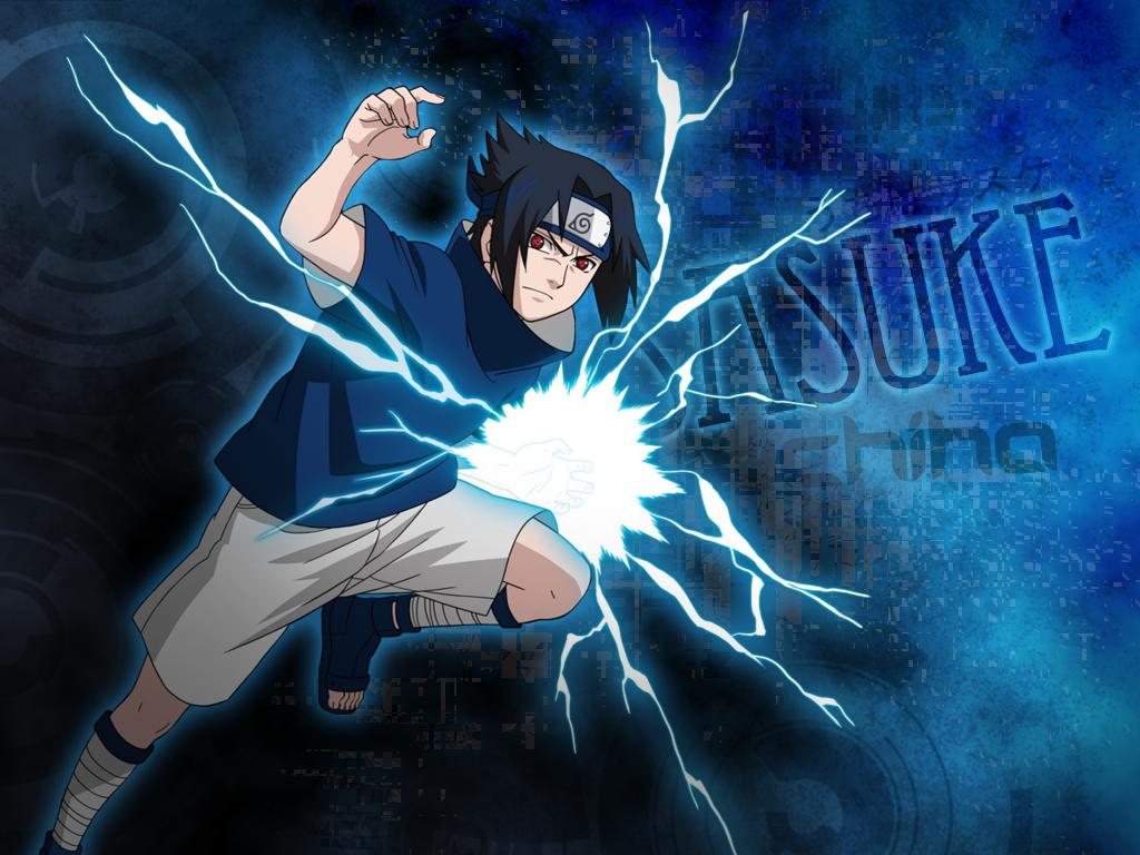 Naruto: Sasuke Wallpaper | A Photoshop Tutorial | Shiver Stuff