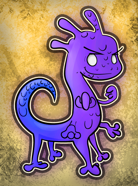 Randall, from Monsters Inc.